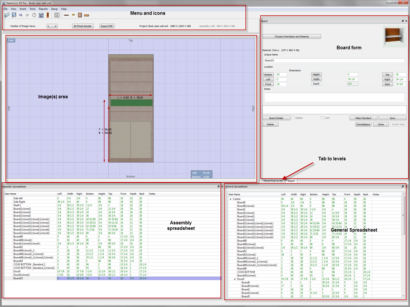Alternate form layout increases productivity in cabinet 3d layout design software free