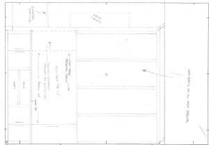 Furniture CAD - hand sketch