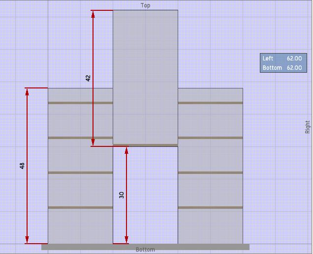 relative locations in furniture design software sketchlist 3d. Black Bedroom Furniture Sets. Home Design Ideas