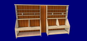 Image of wall storage 3 cabinet design software