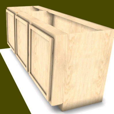 Toe kick cabinet cabinet design software