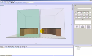 clone and mirror assembly in cabinet design software