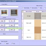 Furniture Design Software - inserting a new board