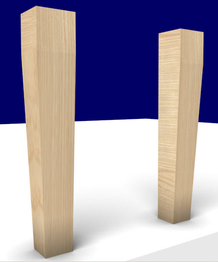 Woodworking design software - v4_tapered_legs