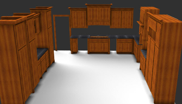 Work to your strength with cabinet design software sketchlist 3d - Wood cabinet design software ...