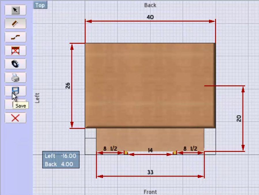 woodworking software shop drawing