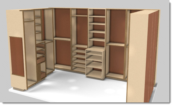 Closet design software aids sales sketchlist 3d - Free closet design software online ...