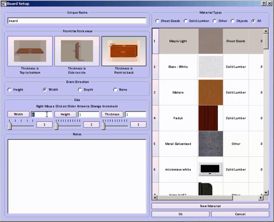 Creating 3d boards in cabinet design software sketchlist New 3d design software