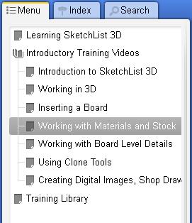 list of videos in SL help
