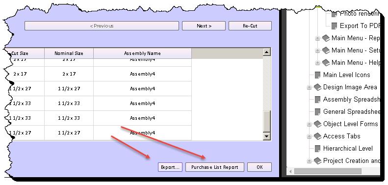 purchase list