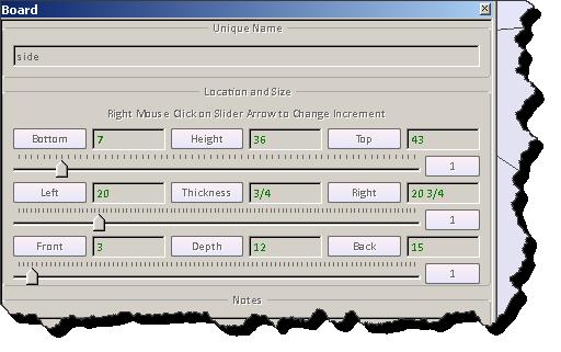 Woodworking design software to resize boards sketchlist 3d for Woodshop layout software