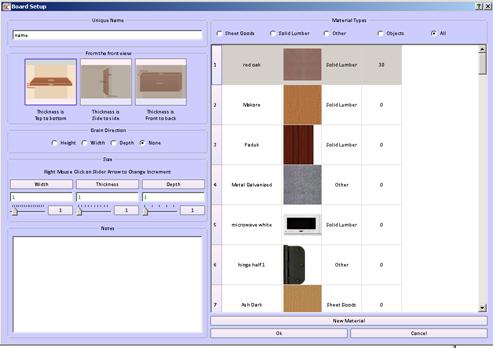 Woodworking design software boards video sketchlist 3d for Woodshop layout software