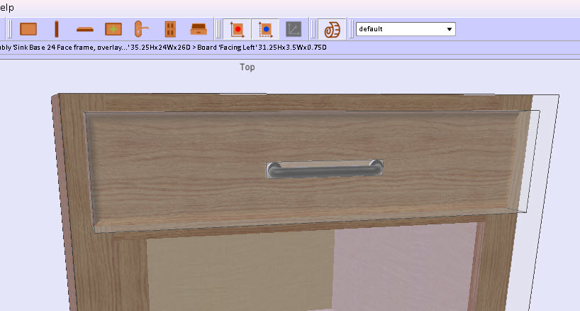 Furniture Drawing Software for Drawers