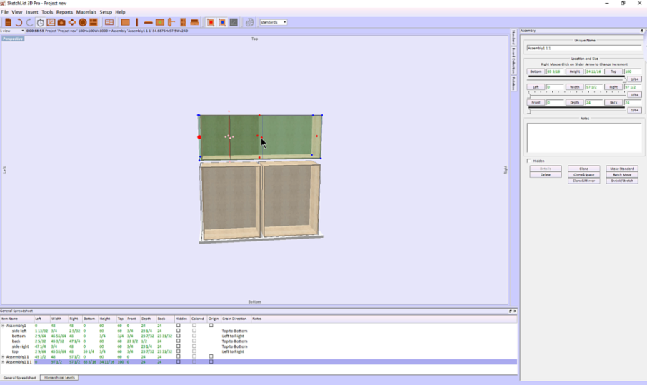 Showing A Form Of Kitchen Cabinet Design Software
