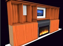 main Screen wall unit