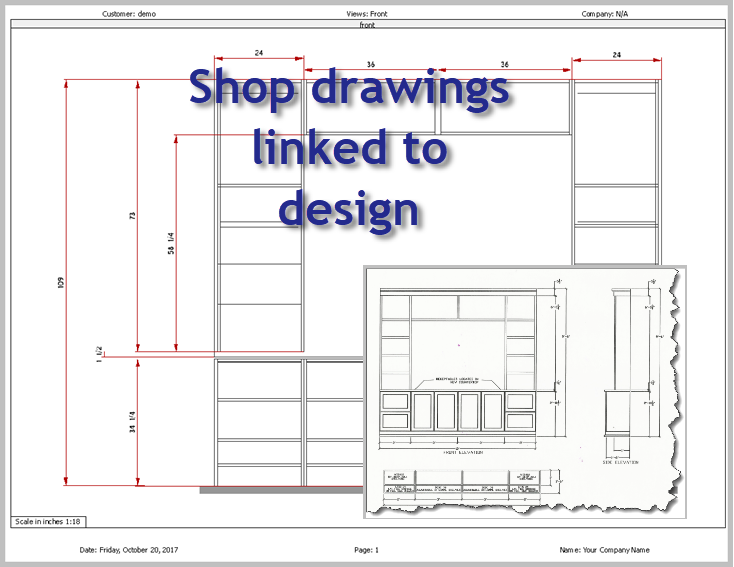 Because Any Change In The Design Immediately Change In The Shop Drawings  The Drawing Is Always Current. Neat And Accurate Drawings With Dimensions  Reduce ...