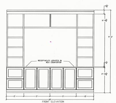 line drawing of doors